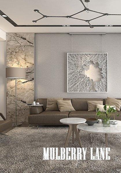 Thiết kế chung cư hiện đại MulberryLane - Chị Hương thiết kế mở