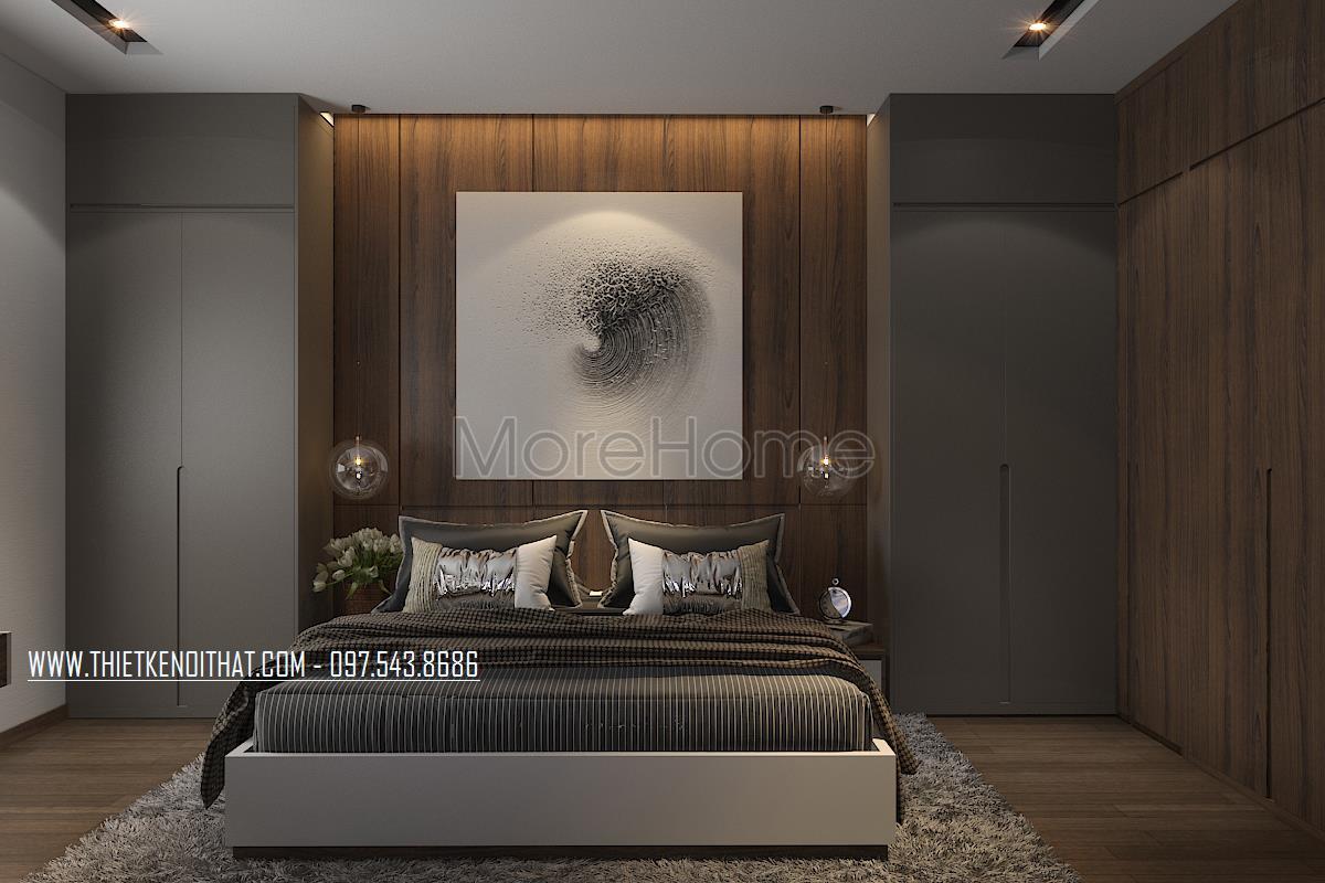 Thiết kế nội thất chung cư Ngoại Giao Đoàn