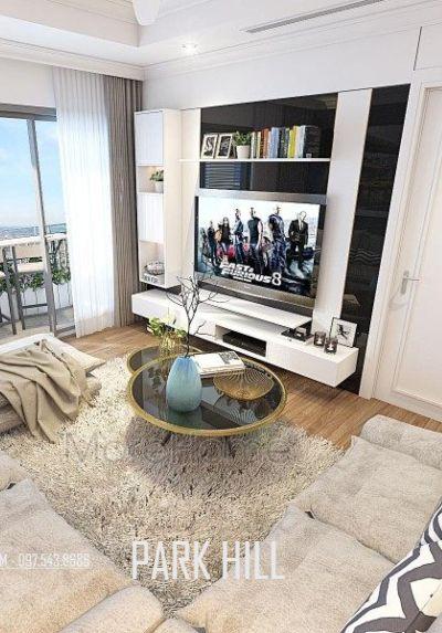 Thiết kế nội thất chung cư ParkHill Hiện đại - Chị Phương 3 phòng ngủ