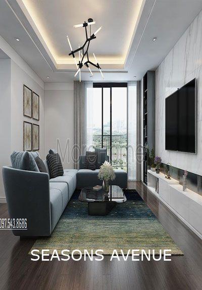 Thiết kế nội thất chung cư Seasons Avenue cao cấp, sáng tạo
