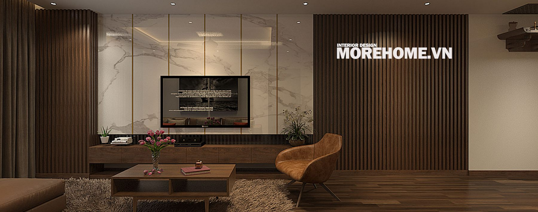 Thiết kế nội thất chung cư Trung Hòa Nhân Chính