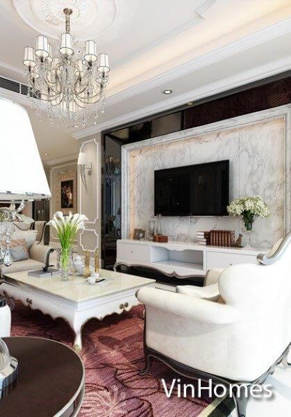 Thiết kế nội thất căn hộ chung cư VinHomes Nguyễn Chí Thanh