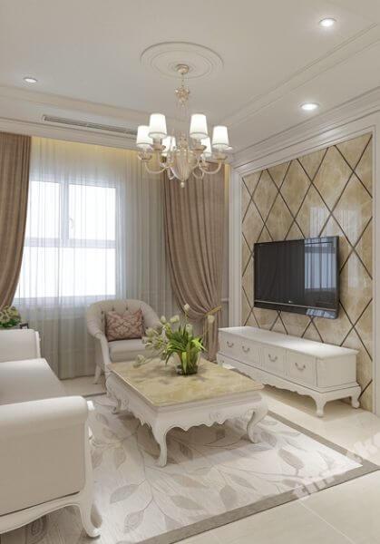 Thiết kế nội thất căn hộ chung cư Sunrise Central - 99m2 - nhà chị Vi