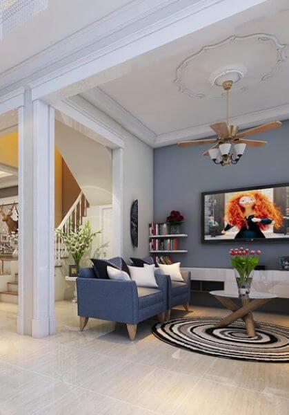 Thiết kế nhà liền kề tân cổ điển HN vẻ đẹp sáng tạo, độc đáo - Anh Long