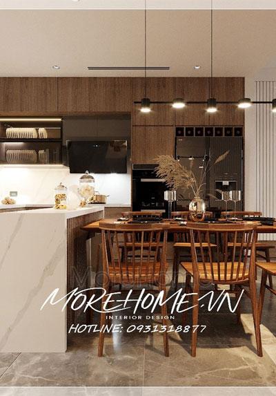 Thiết kế nội thất biệt thự Vinhomes Thăng Long phong cách hiện đại