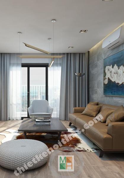 Thiết kế nội thất căn hộ chung cư Meco Trường Chinh - Nhà Chị Hiền