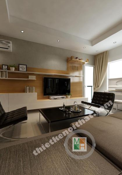 Thiết kế nội thất căn hộ chung cư Morning Star Plaza Bình Thạnh - Chị Minh