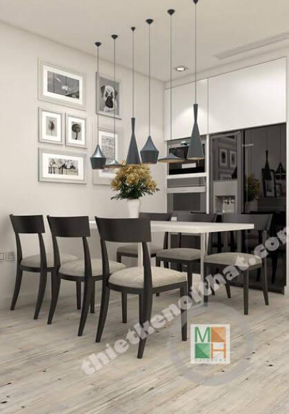 Thiết kế nội thất chung cư Thăng Long Number 1 - Nhà chị Thảo
