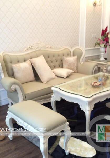 Thi công nội thất chung cư Mandarin Garden - Nhà Anh Dũng
