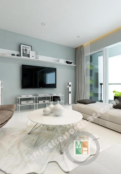Thiết kế nội thất chung cư Estella, Hồ Chí Minh - Anh Hưng