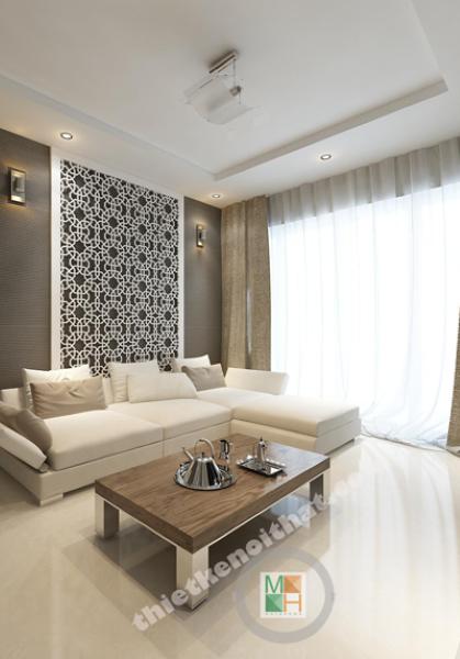 Thiết kế nội thất hiện đại tại Hồ Chí Minh - Chung cư Metro Q2