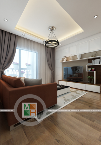 Thiết kế nội thất chung cư hiện đại tại Timescity