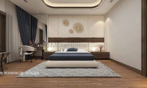 Giường ngủ đẹp cho nhà phân lô Maison Du Park Phạm Văn Đồng