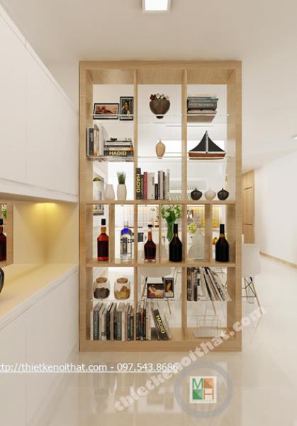 Thiết kế nội thất chung cư Golden Palace Mai Linh - căn B4