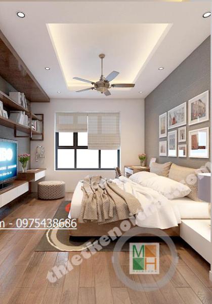 Thiết kế nội thất chung cư Mulberrylane - Nhà Anh Lâm