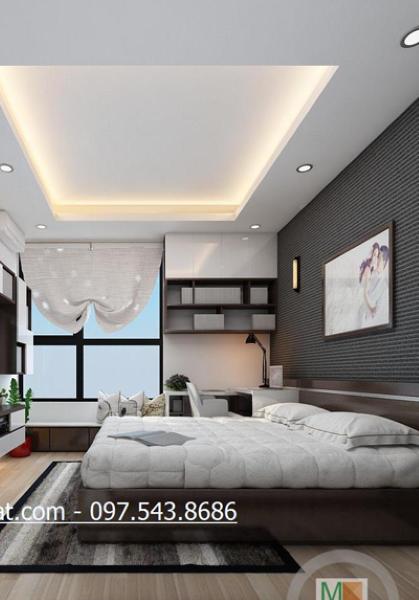 Thiết kế nội thất chung cư StarCity Lê Văn Lương - Nhà Anh Khiêm