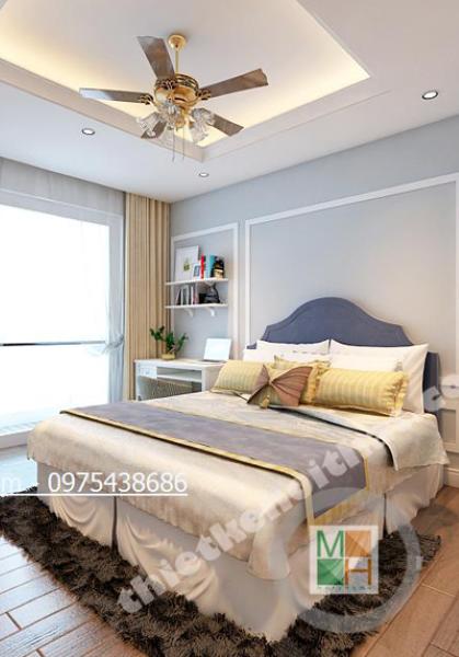Thiết kế nội thất căn hộ chung cư N04 Trung Hòa Nhân Chính - Nhà Chị Trang