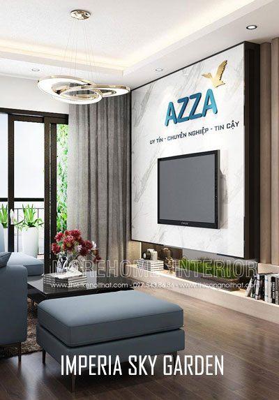 Thiết kế văn phòng chung cư Imperia Sky Garden Minh Khai