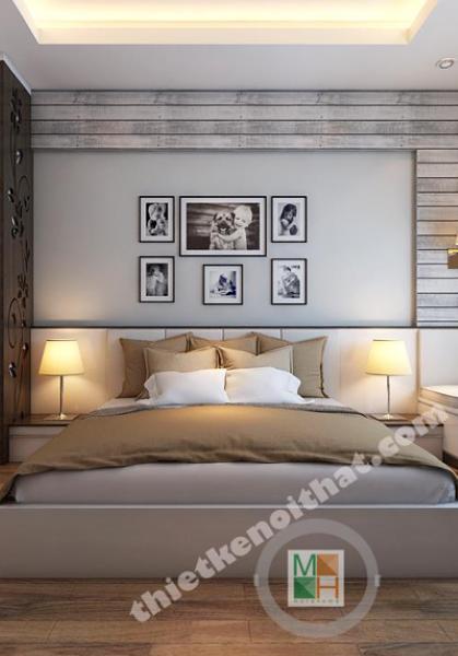 Thiết kế nội thất chung cư Hòa Bình Green - Nhà Anh Cường