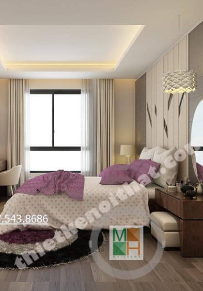 Thiết kế nội thất chung cư Hà Đô ParkView - Nhà Anh Ninh