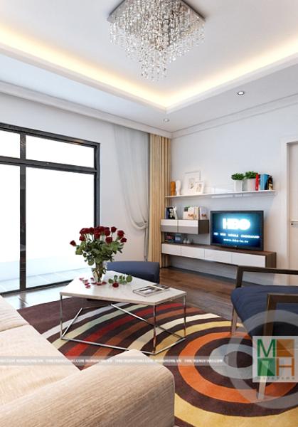 Thiết kế nội thất chung cư Timescity - nhà anh Nam
