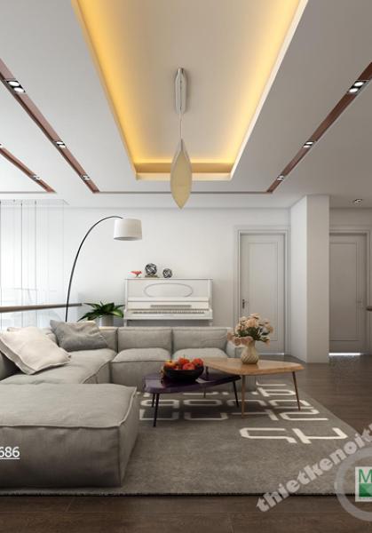 Trang trí nội thất chung cư Duplex Mandarin Garden - Nhà Anh Việt B3