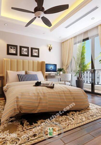 Thiết kế nội thất chung cư cao cấp phong cách tân cổ điển đẹp tại Royal City - Anh Hiếu