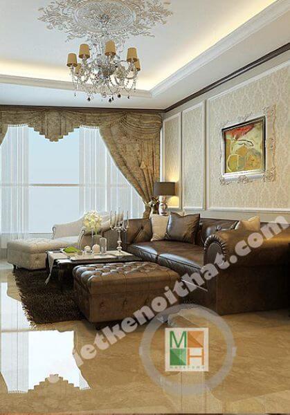 Thiết kế nội thất chung cư cao cấp KeangNam - Mr Danh