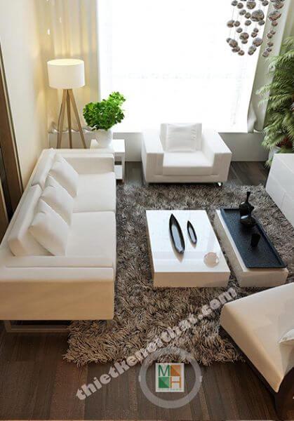 Thiết kế chung cư hiện đại, sang trọng tại Keangnam cao cấp - Anh Sơn