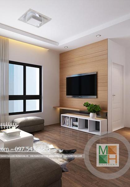 Thiết kế nội thất chung cư TimesCity - anh Chính