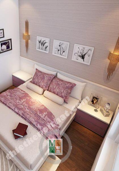 Thiết kế nội thất chung cư Ecopark phong cách hiện đại - Chị Cúc