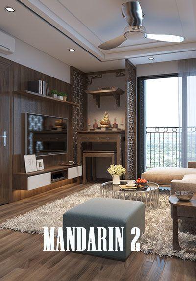 Thiết kế nội thất chung cư Mandarin Garden 2 - Anh Thương
