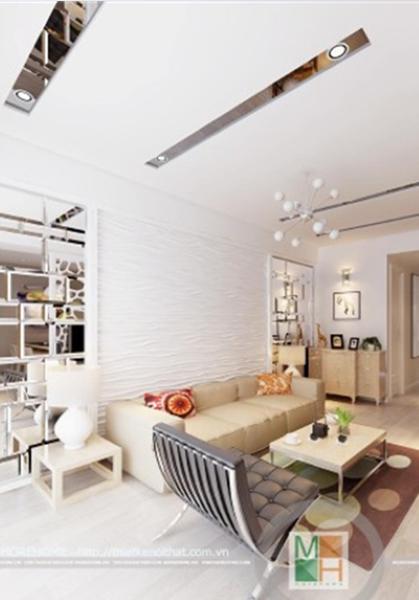 Thiết kế chung cư phong cách Hiện Đại sang trọng Gia Khang - Mr Quân