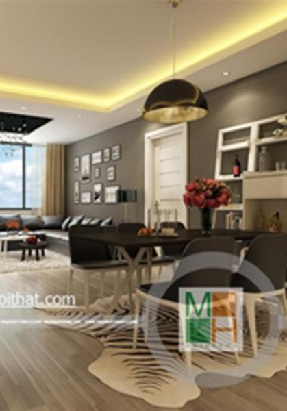 Thiết kế nội thất chung cư Platinum Residences- nhà chị Phương