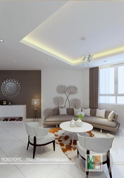Thiết kế nội thất chung cư Hà Đô - Quận Gò Vấp - tp.HCM - Chị Phượng