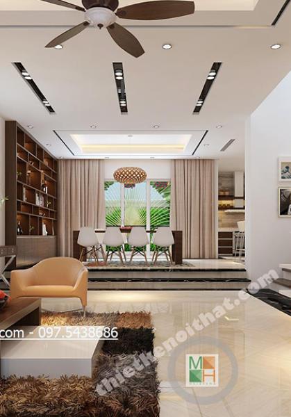Thiết kế biệt thự hiện đại HUYNDAI HILLSTATE - Anh Hà