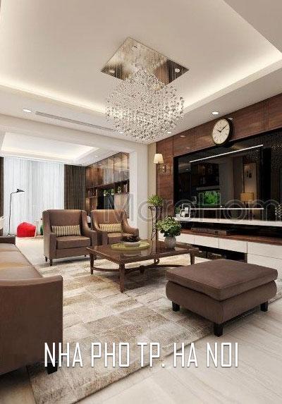Thiết kế nội thất nhà phố phong cách đương đại đẹp tại phố Lò Đúc, Hà Nội