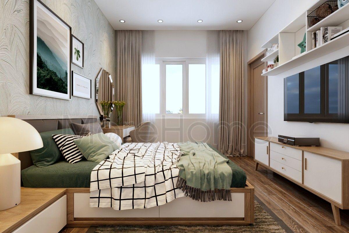 Thiết kế nội thất phòng ngủ nhà phố aThiết kế nội thất nhà phố Vạn Phúc Thủ Đứcvạn phúc city