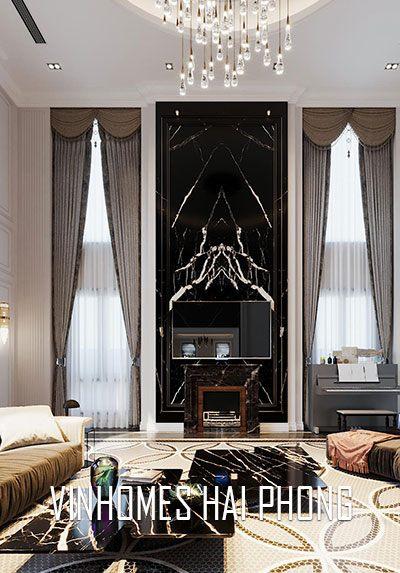 Phong cách Luxury đẳng cấp tại biệt thự Vinhomes Imperia Hải Phòng