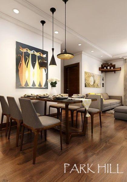 Mẫu thiết kế nội thất căn hộ Park Hill Premium - chị Huyền