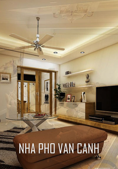 Thiết kế nội thất nhà liền kề phong cách hiện đại khu đô thị Vân Canh