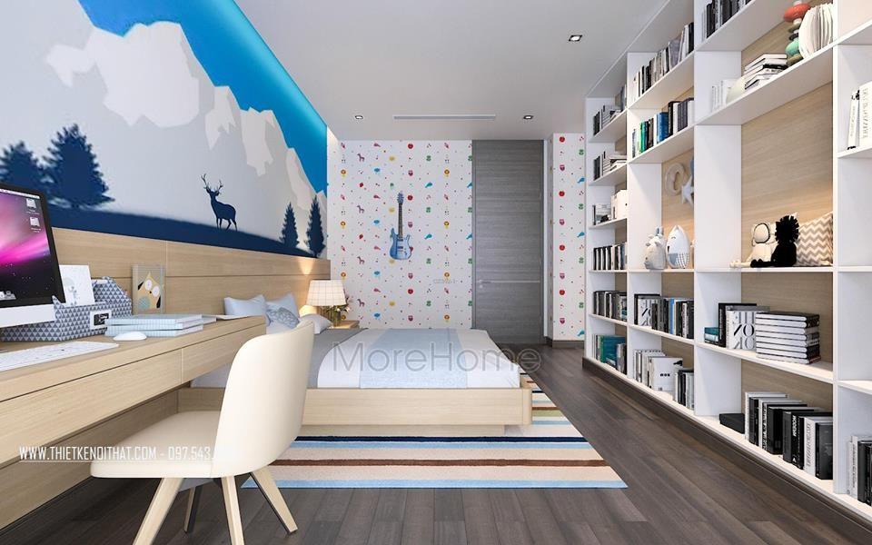 Thiết kế nội thất biệt thự Vinhomes Riverside The Harmony