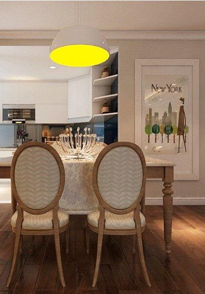 Thiết kế nội thất hiện đại trẻ trung tại chung cư Mandarin Garden- chị Trà My