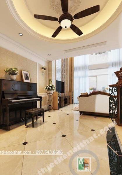 Thiết kế nội thất chung cư cao cấp - Duplex Mandarin Garden - Chị Hải