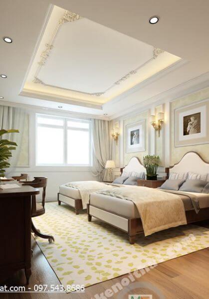 Thiết kế nội thất căn hộ Duplex Mandarin Garden - Nhà anh Anh