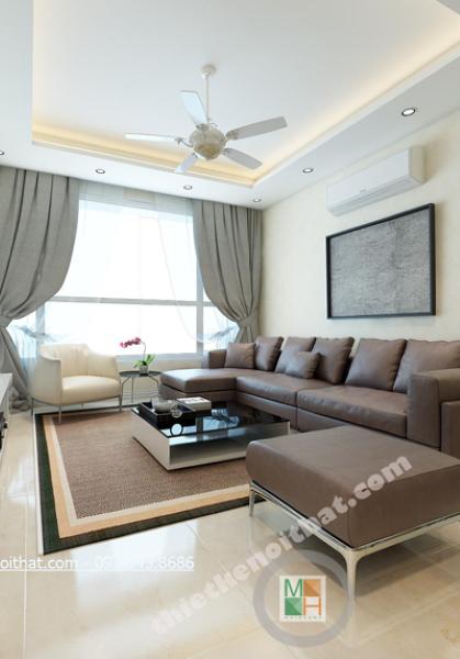 Thiết kế nội thất chung cư Timescity phong cách hiện đại - Chị Thảo