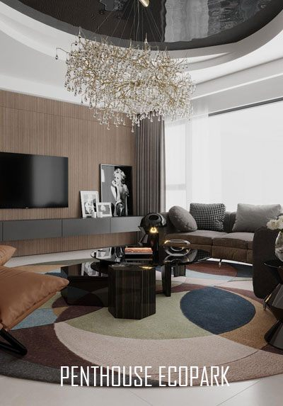Thiết kế nội thất Penthouse cao cấp sang trọng tại Ecopark