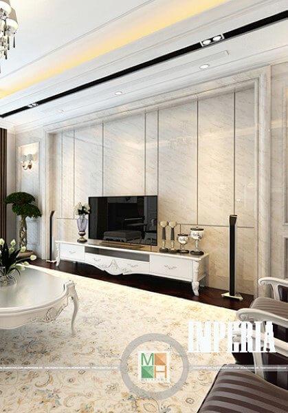 Thiết kế penthouse tân cổ điển tại chung cư Imperia Garden