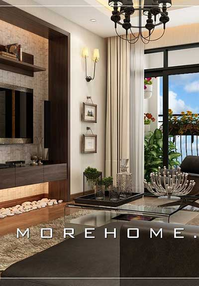 Top 36 mẫu thiết kế phòng khách có ban công đẹp cho căn hộ chung cư, nhà phố