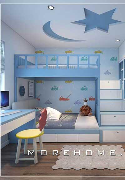 Chia sẻ 20 mẫu trang trí phòng ngủ con trai đẹp